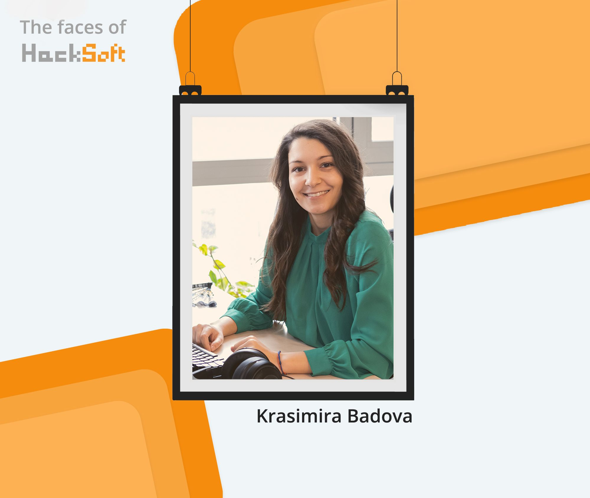 Behind any successful company, stands a motivated team. We would love to tell you more about it. Starting with Krasimira Badova!