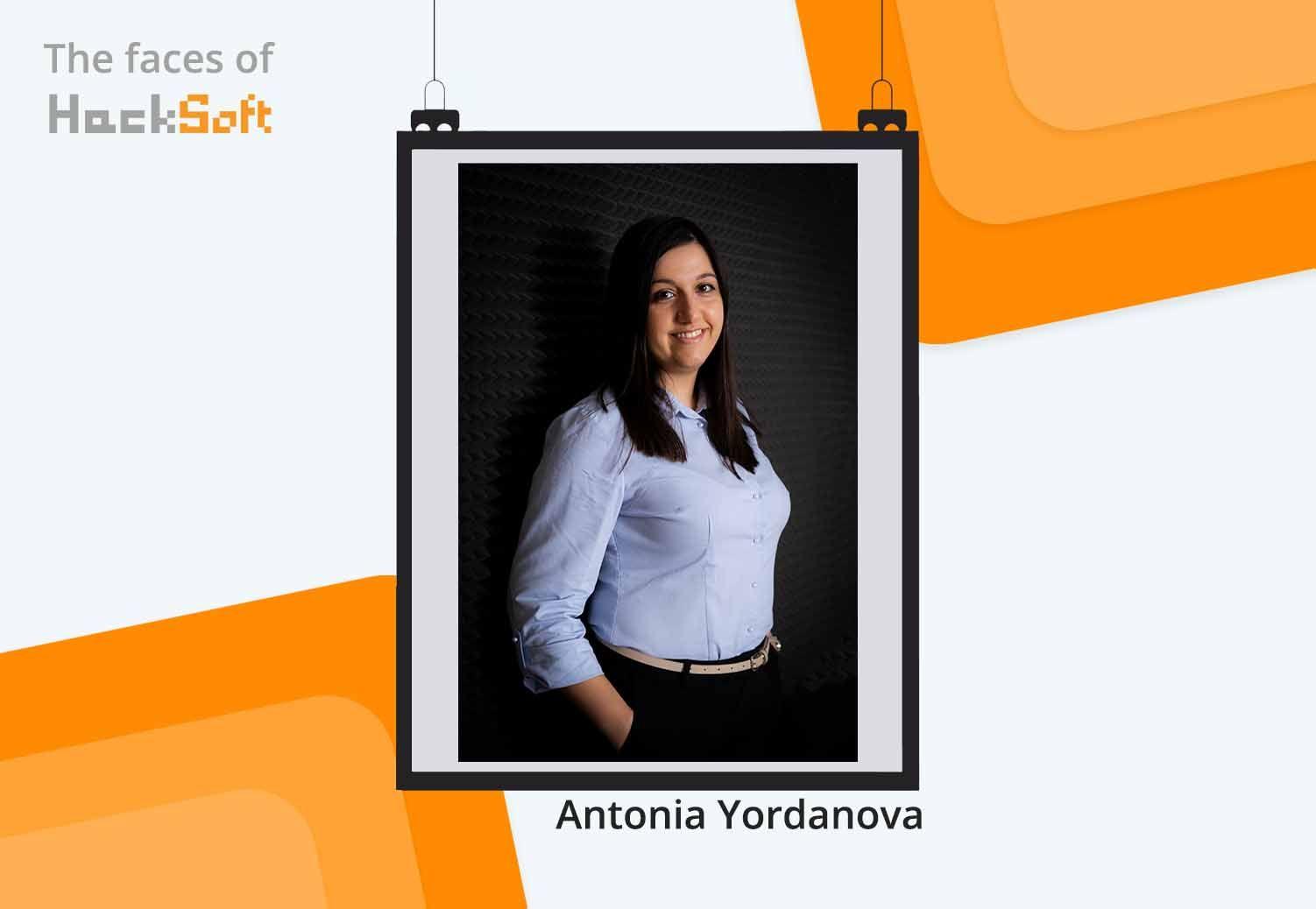 The Faces of HackSoft - Antonia Yordanova